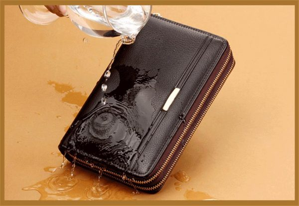 Men's Elegant Business Wallet - Waterproof