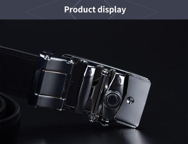 Men's Genuine Leather Belt - 1