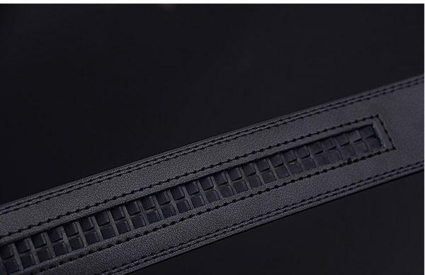 Men's Genuine Leather Belt - 4