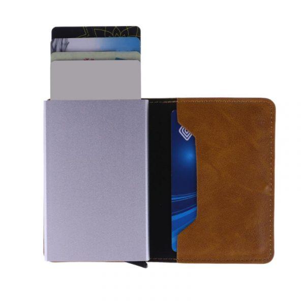 Men's RFID Card Holder - Interior