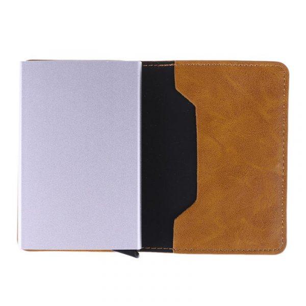 Men's RFID Card Holder - Open