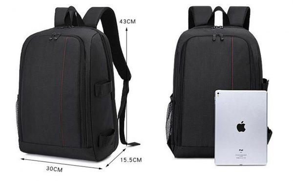 Multi-Functional DSLR Camera Bag - Size