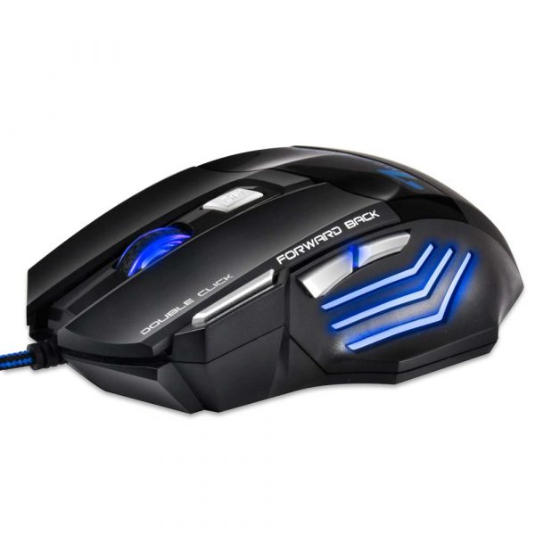 Professional Wired Gaming Mouse - 7 Button - 12
