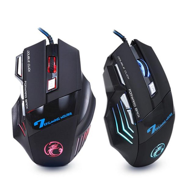 Professional Wired Gaming Mouse - 7 Button