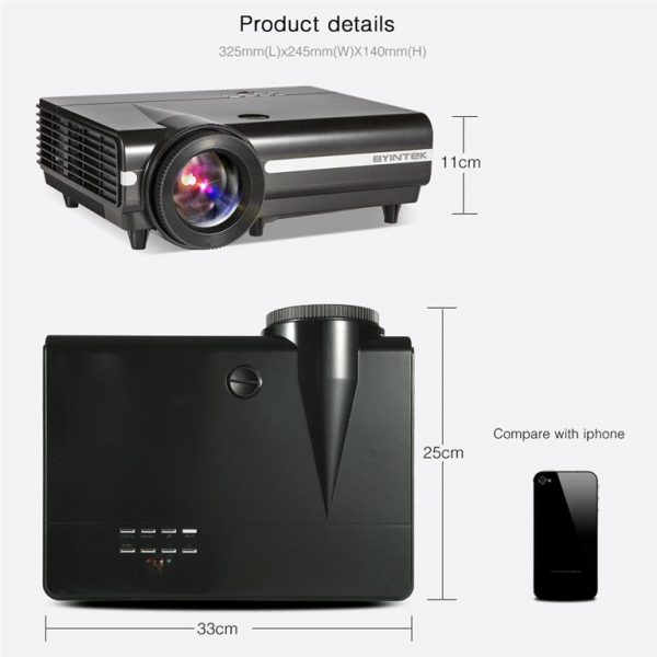 Smart LED Projector For Home Theater - Details