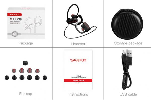 Sports Wireless Bluetooth Earphones - Contents