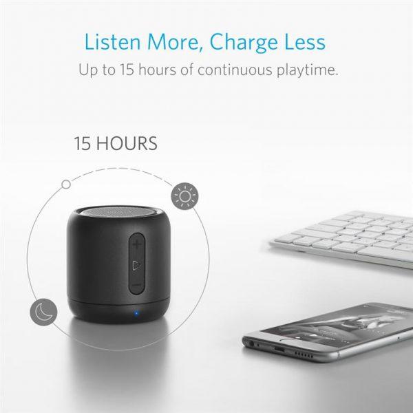 Super-Portable Bluetooth Speaker - 6