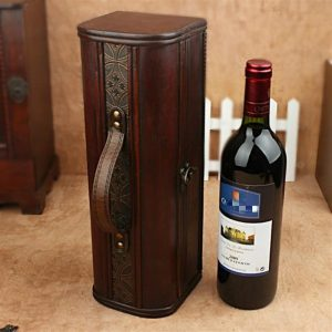 Vintage Wooden Wine Gift Box