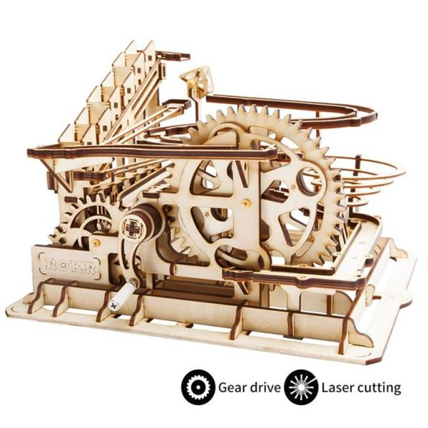 Waterwheel Coaster Wooden Model Kit