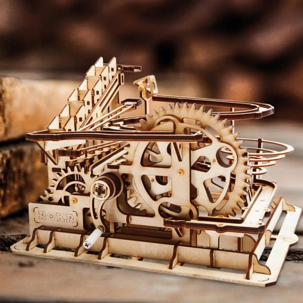 Waterwheel Coaster Wooden Model Kit - Demo
