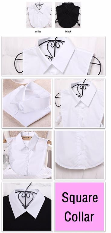 Women's Fake Blouse Top Accessory - Options