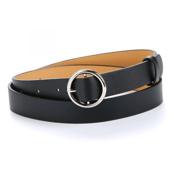 Women's Pin Buckle Belt - Round