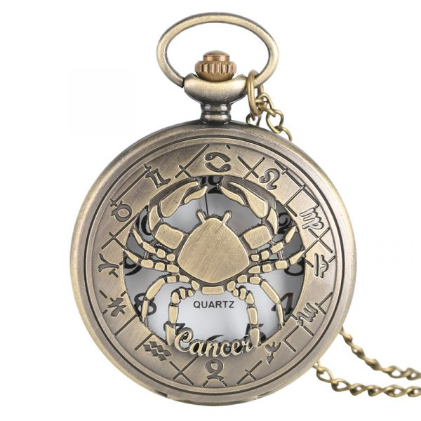 Vintage Zodiac Pocket Watch