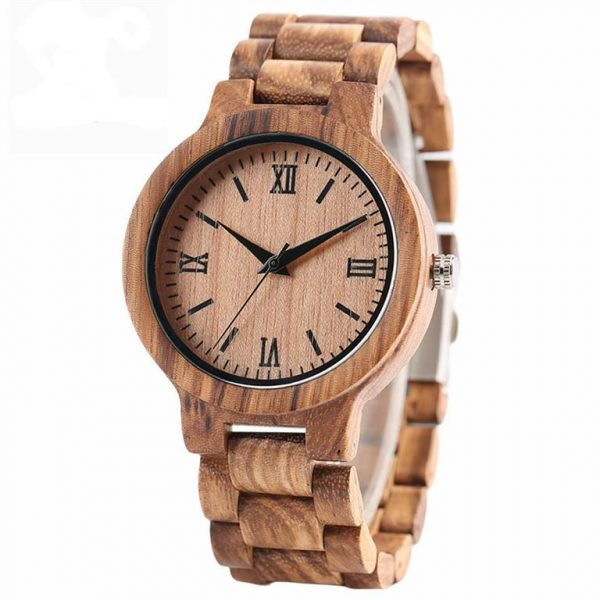 Bamboo Handmade Wooden Watch