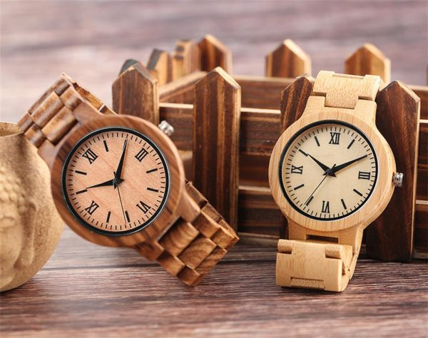 Bamboo Handmade Wooden Watch - Variations