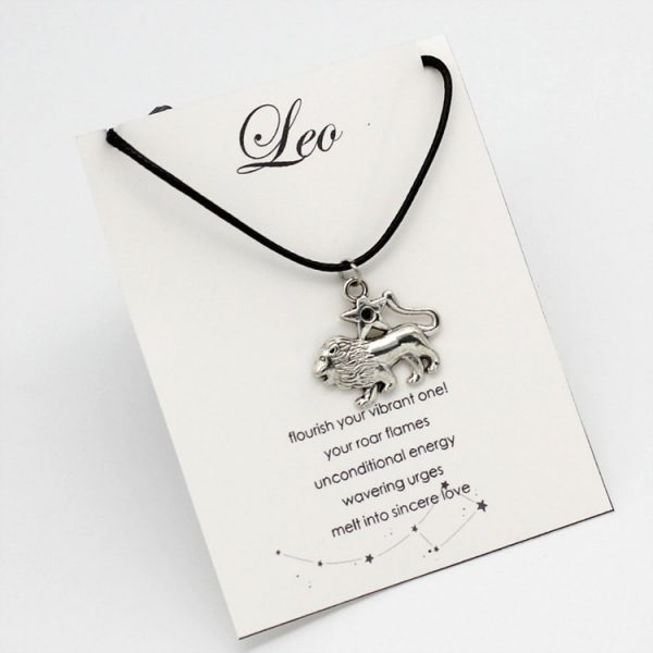 Children's Zodiac Fashion Pendants - Leo