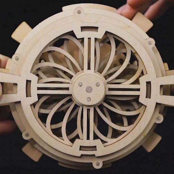 DIY - 3D Perpetual Calendar Puzzle - Back