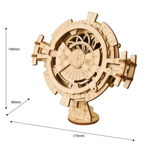 DIY - 3D Perpetual Calendar Puzzle - Size