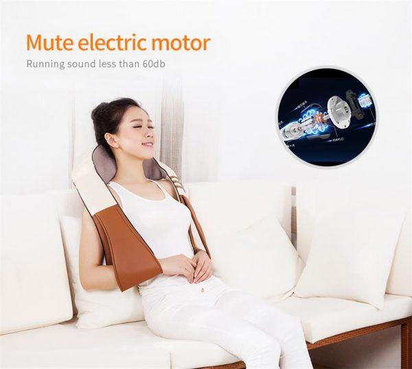 Electrical Shiatsu Back Neck Shoulder and Body Massager- Motor