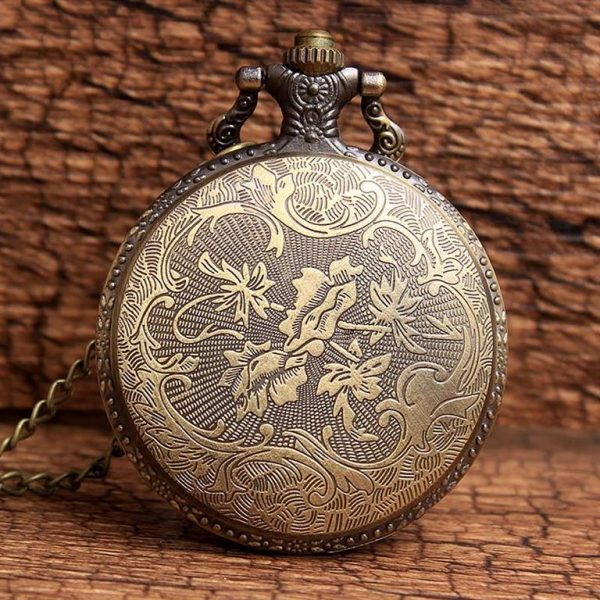 Little Prince Pocket Watch With Chain For Children - Back 2