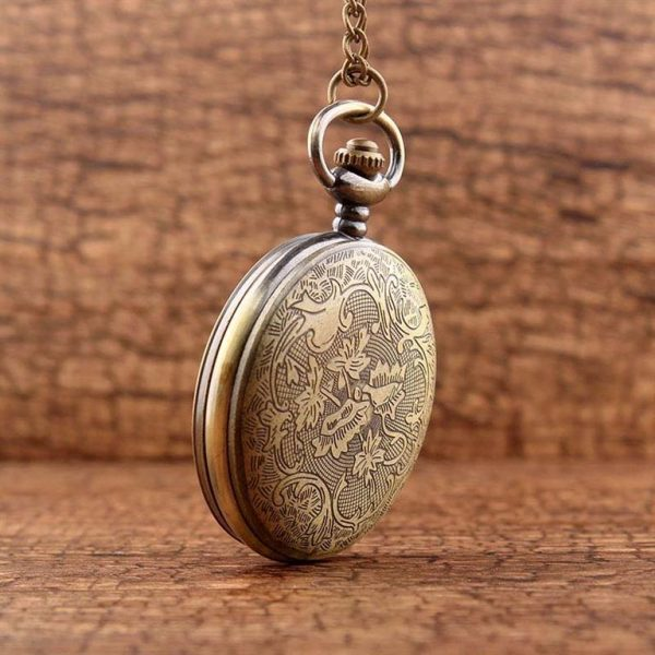 Little Prince Pocket Watch With Chain For Children - Back