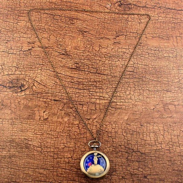 Little Prince Pocket Watch With Chain For Children - Chain