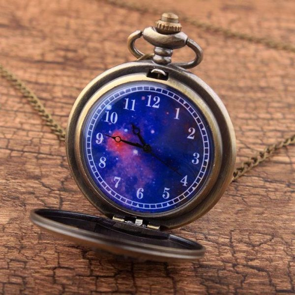 Little Prince Pocket Watch With Chain For Children - Face 2