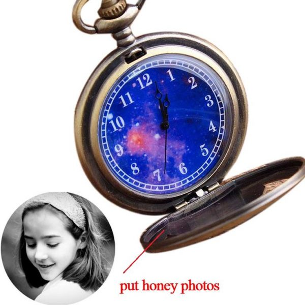 Little Prince Pocket Watch With Chain For Children - Photo