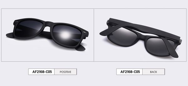 Men's Fashion Polarized Sunglasses UV400 - C05 - Profile