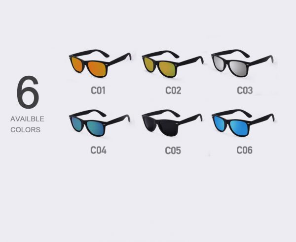 Men's Fashion Polarized Sunglasses UV400 - Colors