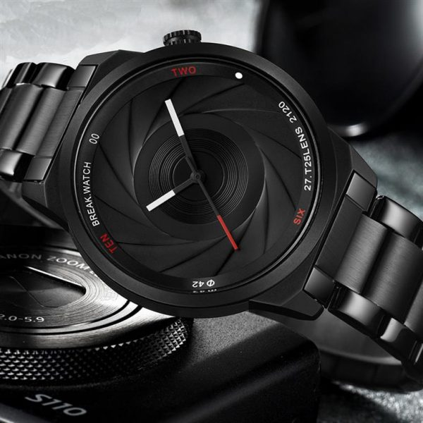Men's Photographer Series Camera Style Watch