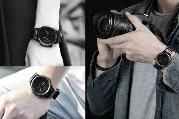 Men's Photographer Series Camera Style Watch - Demo