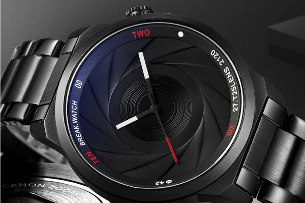Men's Photographer Series Camera Style Watch - Face