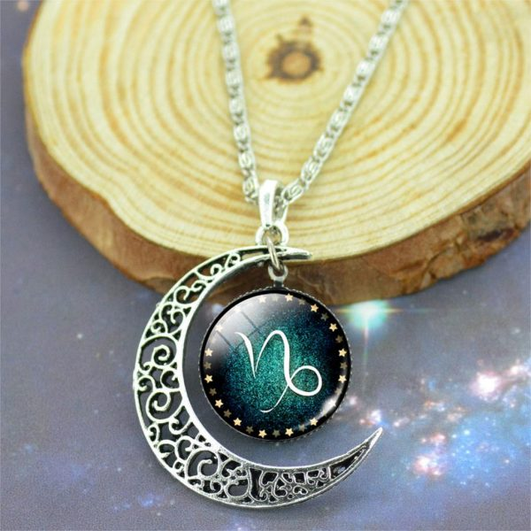 Trendy Silver Plated Zodiac Necklaces - Sample 1