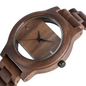 Unique Hollow Handmade Wooden Watch