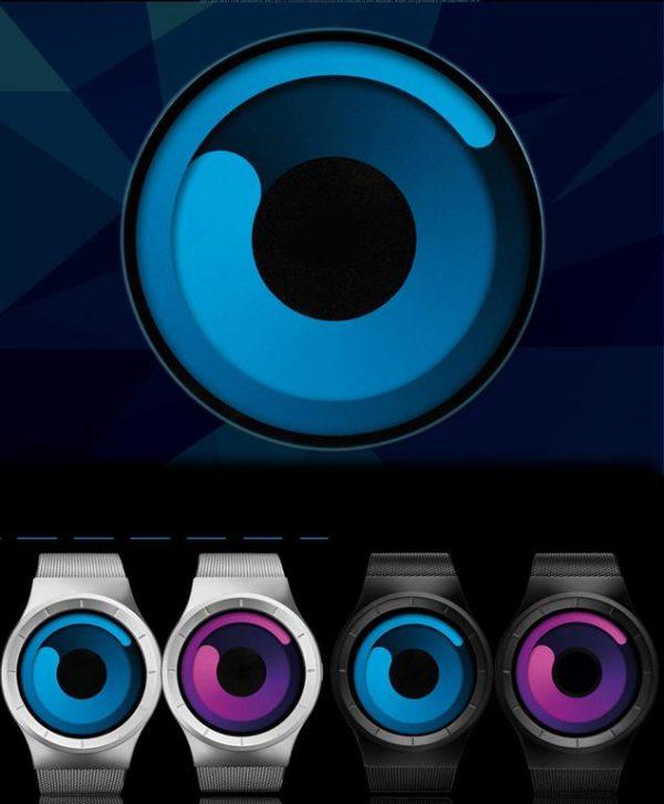 Unisex Digital Minimalist Watch - Colours