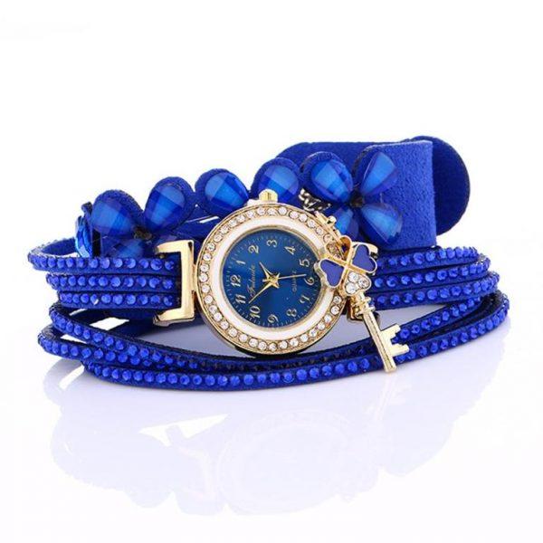 Women's Charm Bracelet Watch - Side