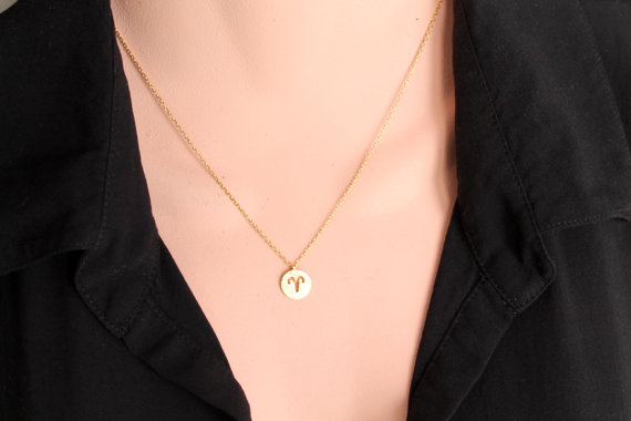 Women's Gold Plated Zodiac Necklace - Demo 1
