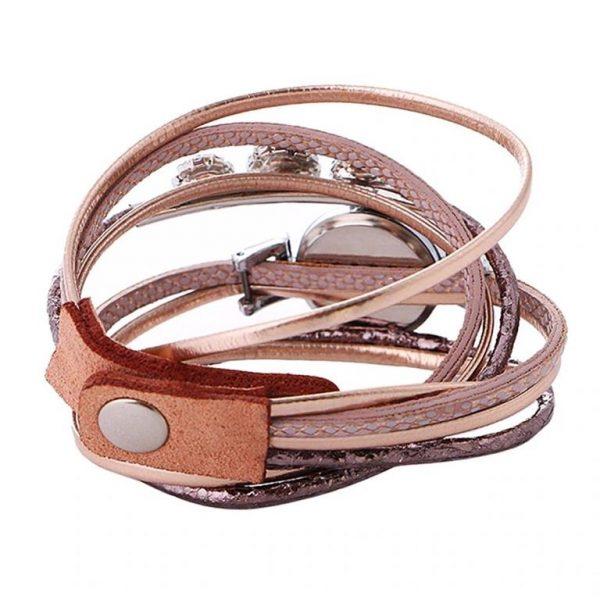 Women's Luxury Rhinestone Bracelet Watch - Back