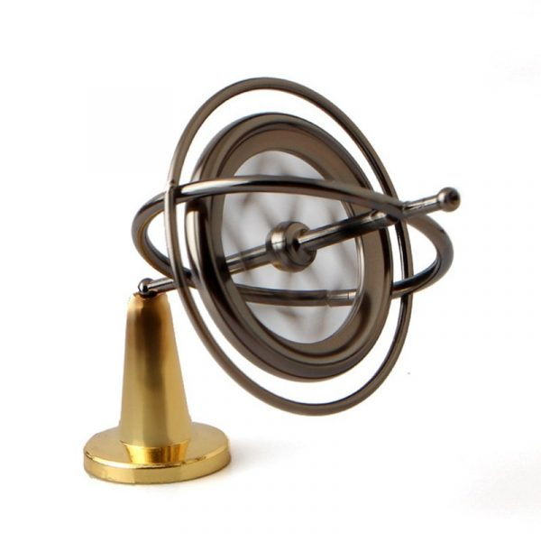 Classical Gyroscope - Spinning Sideways