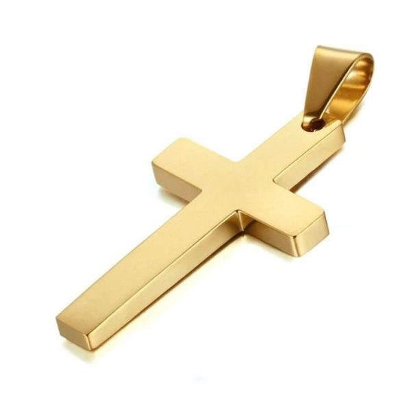 Cross Pendant With Chain - Cross 2