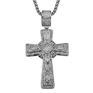 Cross Pendant for Men - Bling Collection