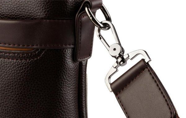 Men's Casual Leather Bag Set - Clip