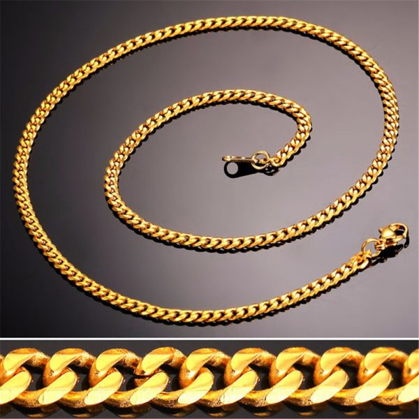 Men's Cuban Link Hip-Hop Chain - Bling Collection - Closeup
