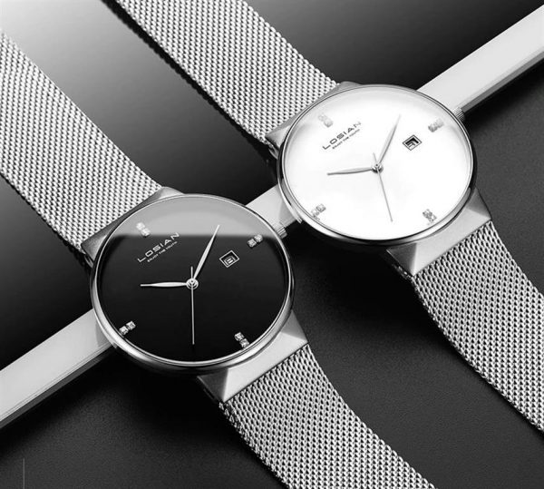 Men's Elegant Business Watch - Duo