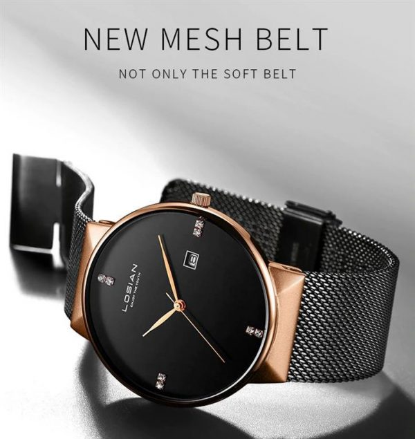Men's Elegant Business Watch - Mesh