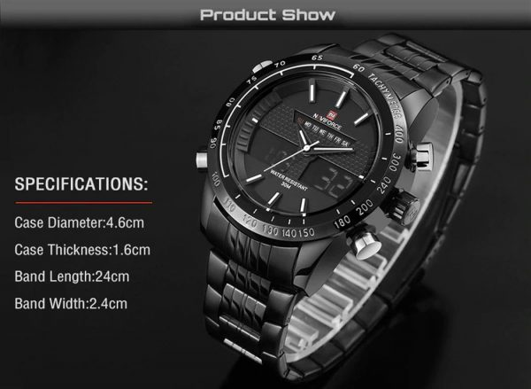 Men's Fashion Sports Watch - Specifications