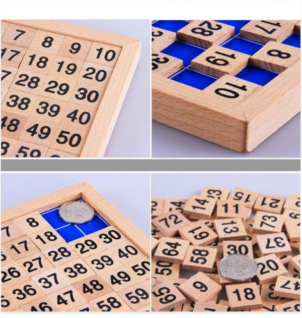 Montessori Education Wooden Math Board - Details