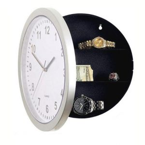 Wall Clock Secret Storage Box - Regular