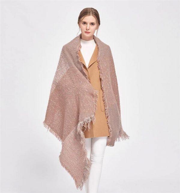 Warm Winter Shawls for Women 1